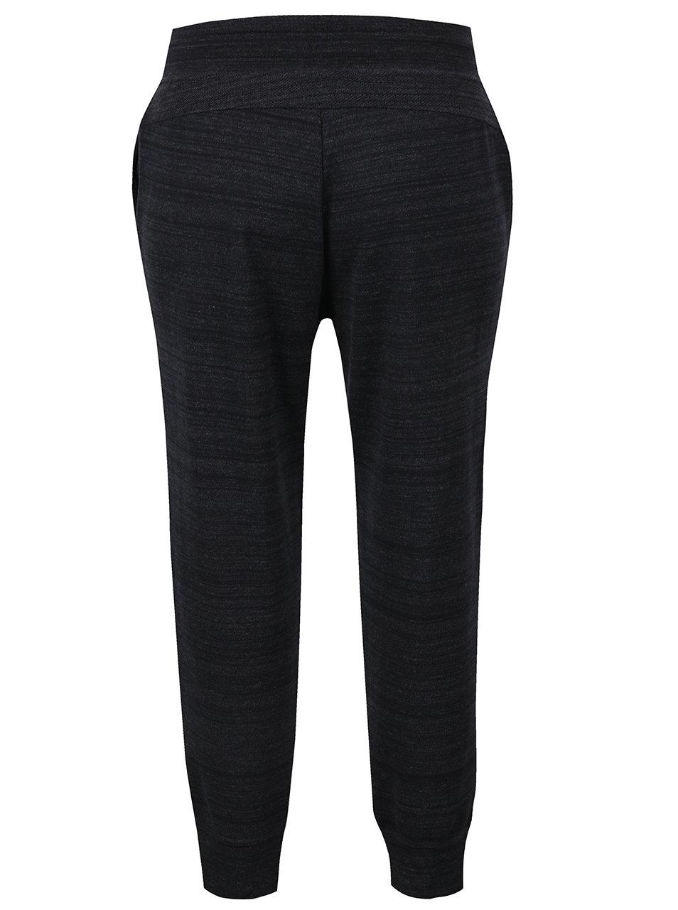 7e89bceef52b Čierne dámske melírované tepláky Nike Sportswear Advance 15 ...