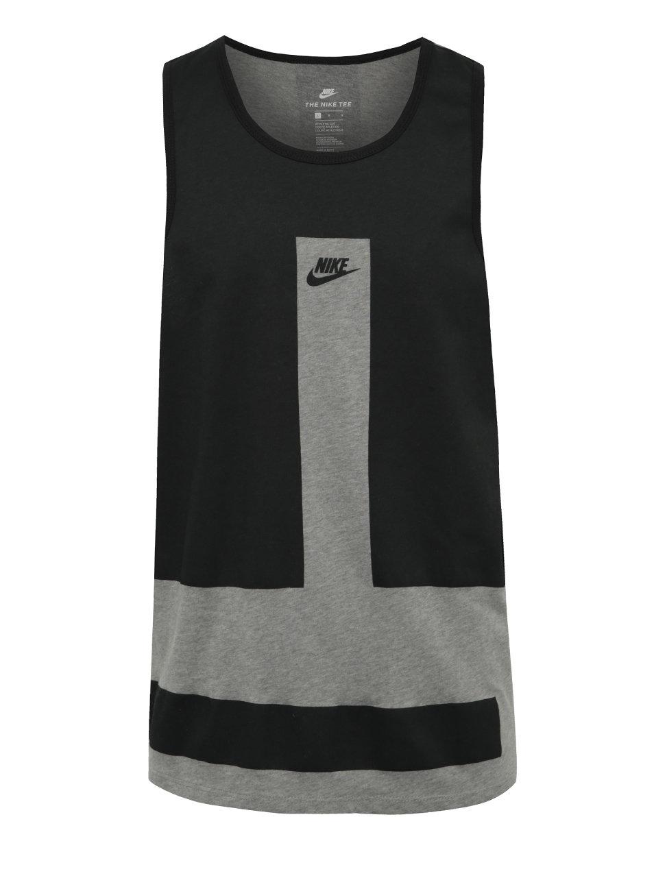 e4b77f098 Čierno-sivé pánske tielko Nike Modern | ZOOT.sk