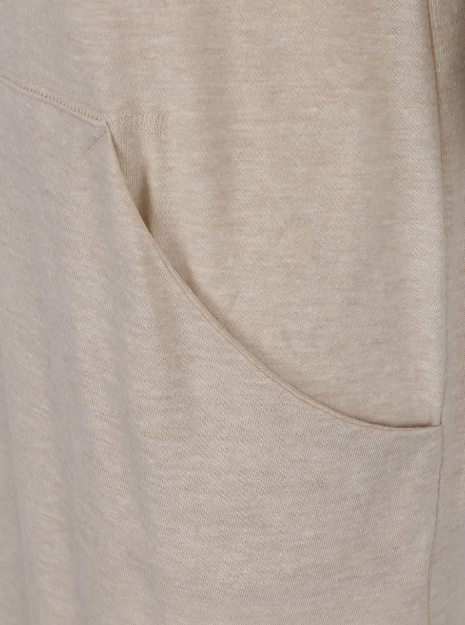 Béžové dámské sportovní šaty bez rukávů Nike ... ca546256dd