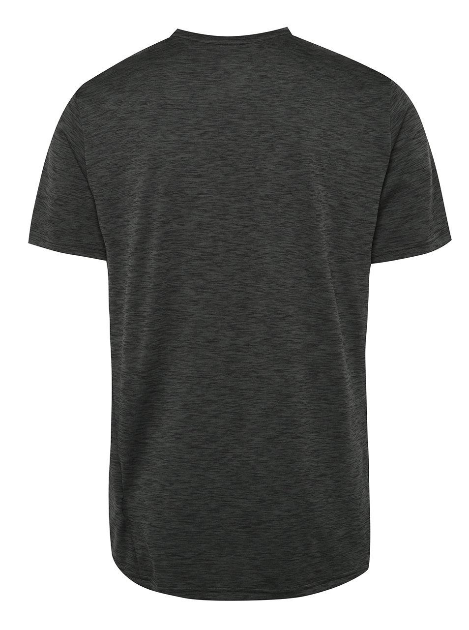 Tmavosivé pánske funkčné tričko Nike Breathe ... fed11291b28