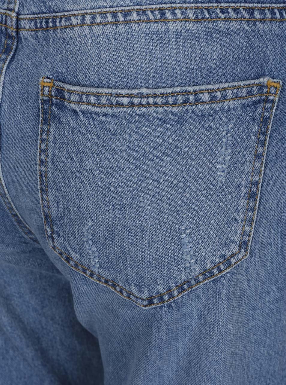 882c3b24722 Modré džínové lacláče s potrhaným efektem Miss Selfridge ...