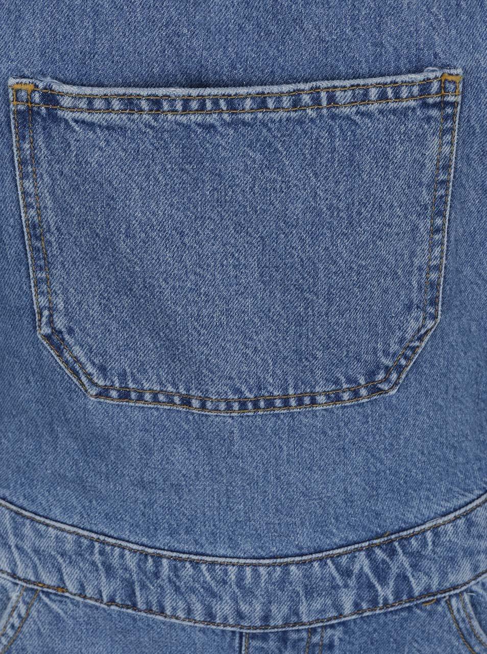 eff4fd383ef Modré džínové lacláče s potrhaným efektem Miss Selfridge ...