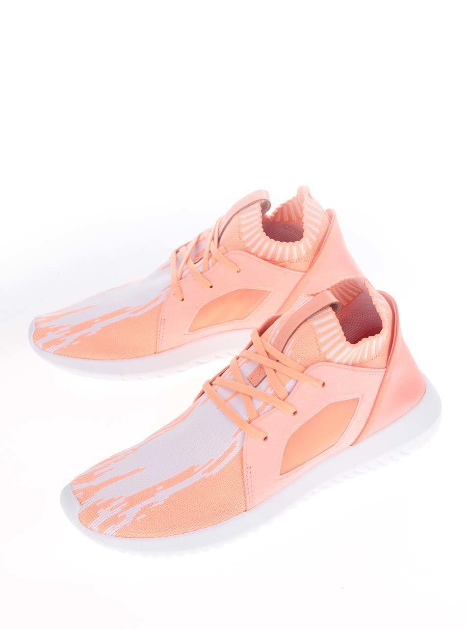 Oranžové dámské tenisky adidas Originals Tubular Defiantpk ... c20e28b5eb1