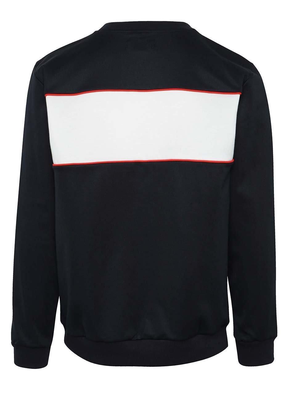 Tmavomodrá pánska mikina s logom adidas Originals ... 47ec90254b6