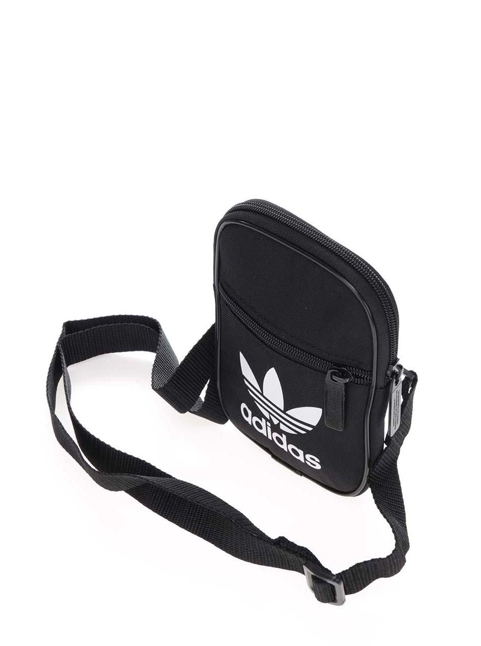633aedad53 Čierna malá unisex crossbody taška adidas Originals ...