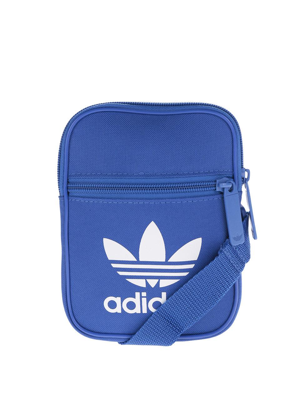 Modrá malá unisex crossbody taška adidas Originals ... f5f2125aac1