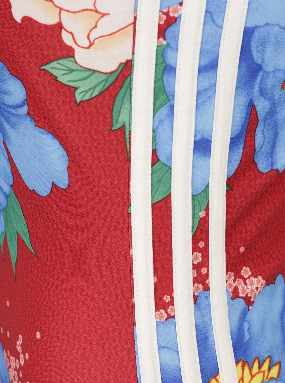 239eccd096222 Červené vzorované dámske šaty adidas Originals   ZOOT.sk