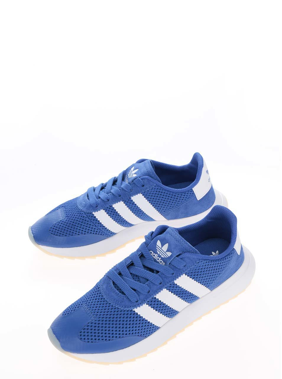Modré dámské tenisky adidas Originals Flashrunner ... edf66ad991f