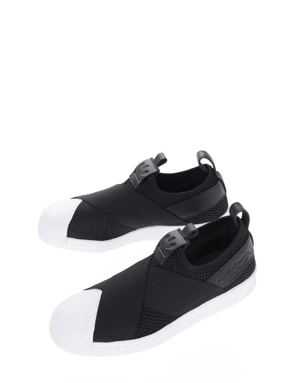 Čierne dámske tenisky adidas Originals Superstar ... 415126734d2