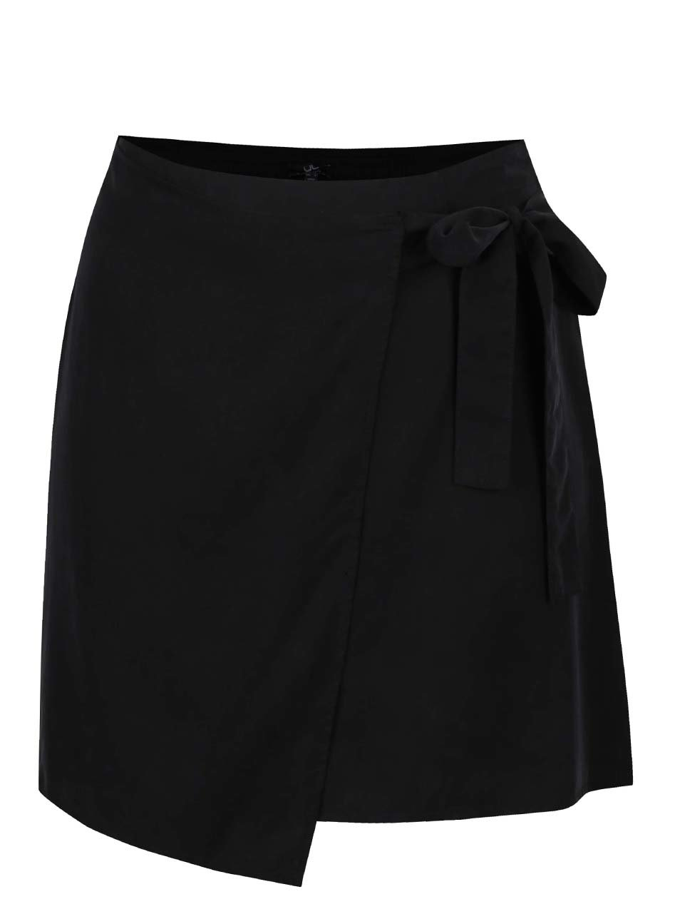 da0133a05ff Černá zavinovací sukně Ulla Popken ...