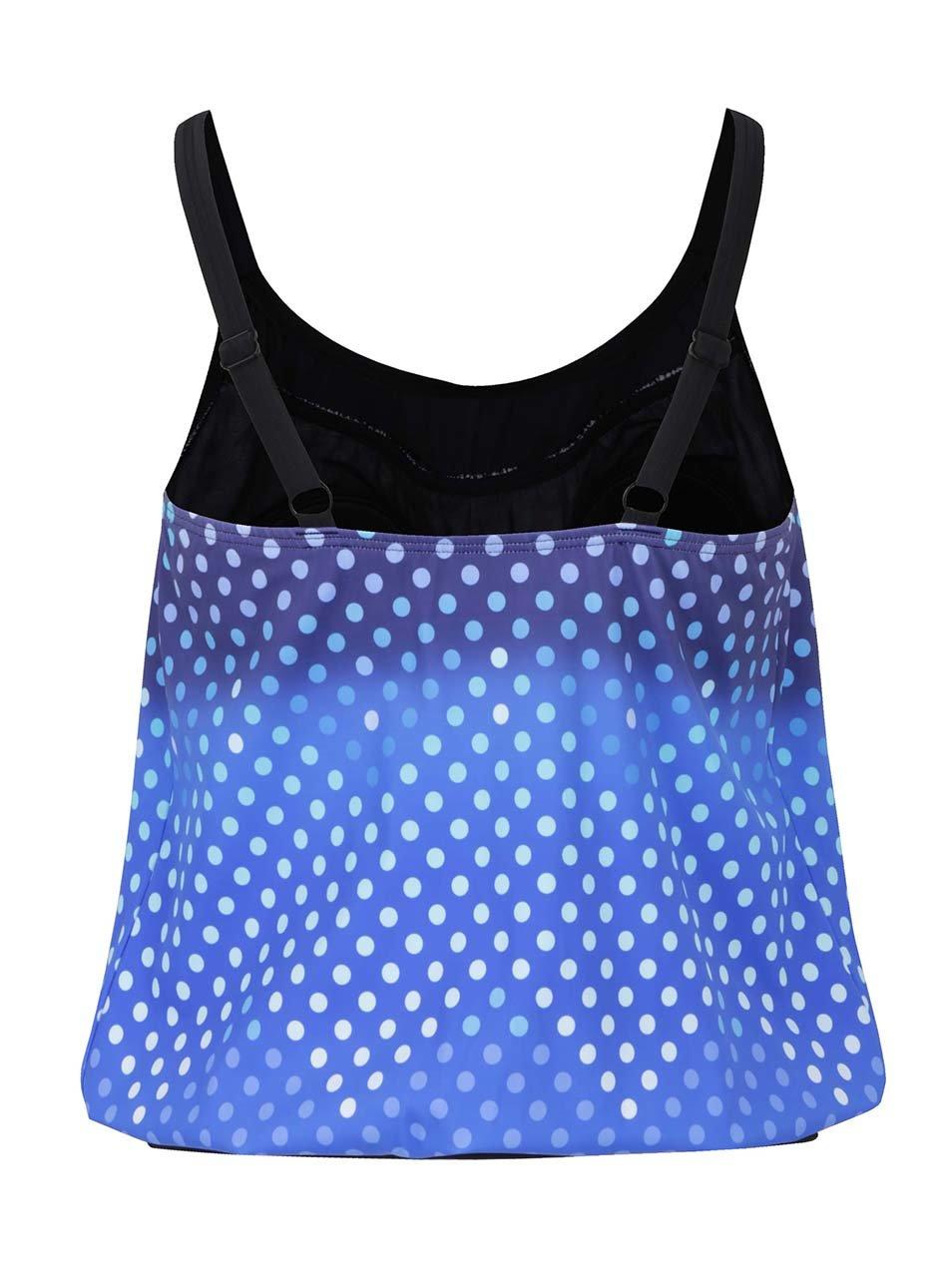 725101ce4 Modré bodkované tankini plavky s ombré efektom Gina Laura | ZOOT.sk