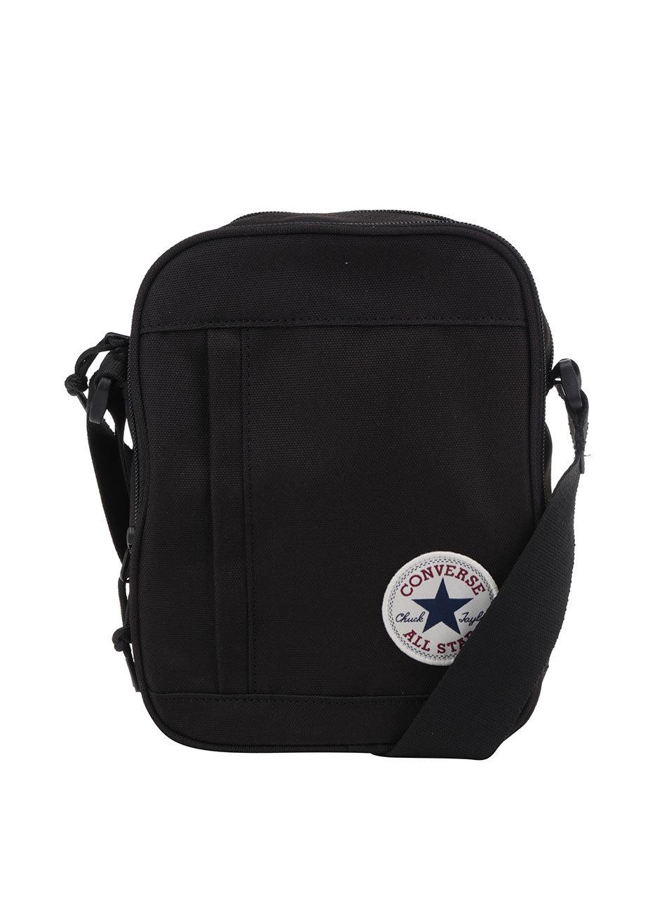 3d761a9c93666 Čierna unisex taška cez rameno Converse Poly | ZOOT.sk