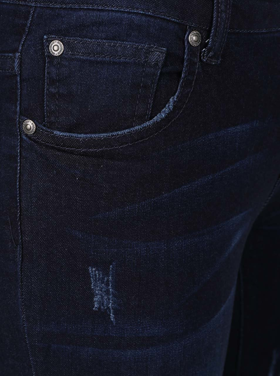 Tmavě modré dámské 3 4 skinny džíny Broadway Darlena ... fe70c325f9