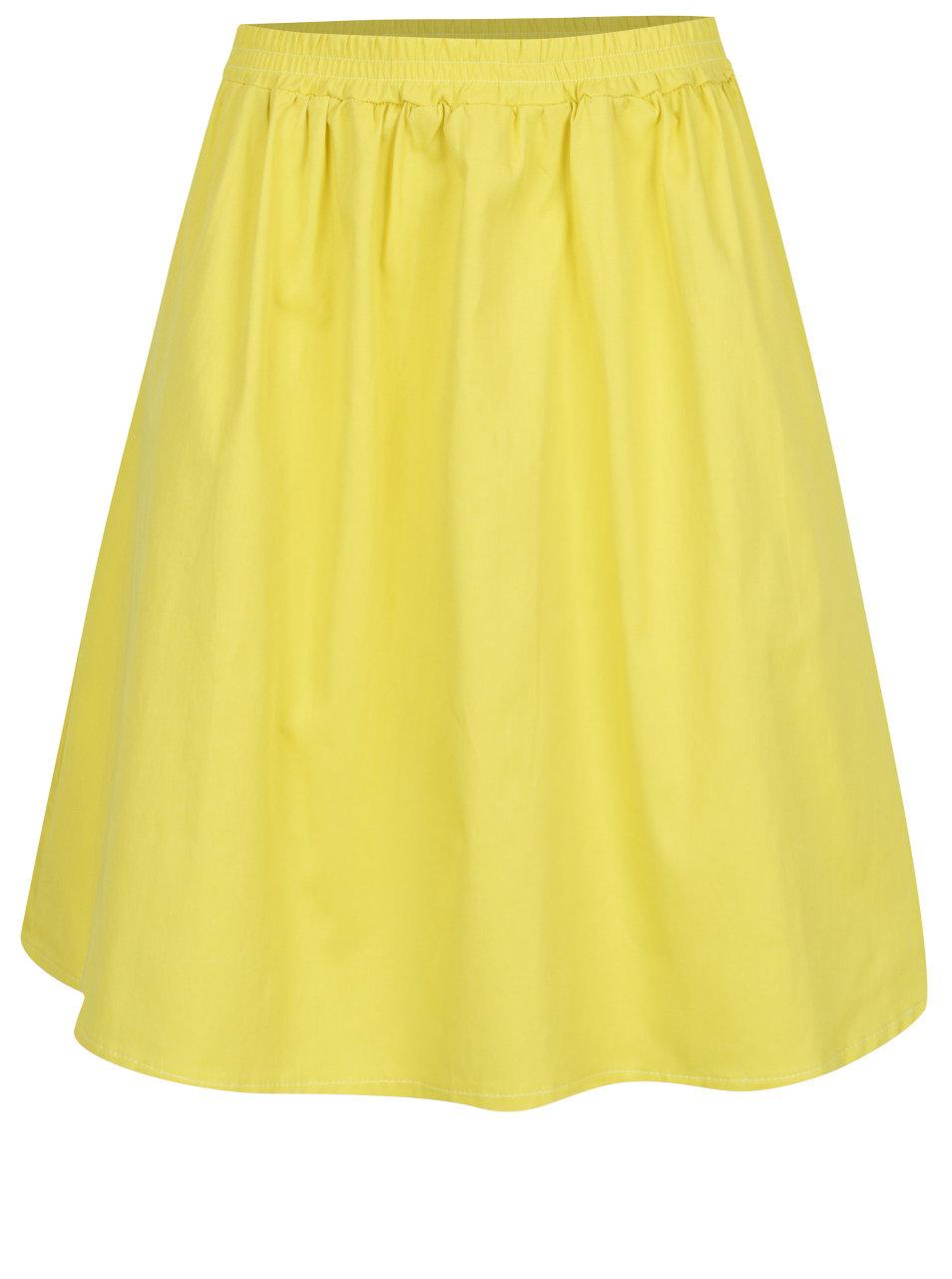 Žlutá sukně s kapsami ZOOT ... b86a6cf4c1