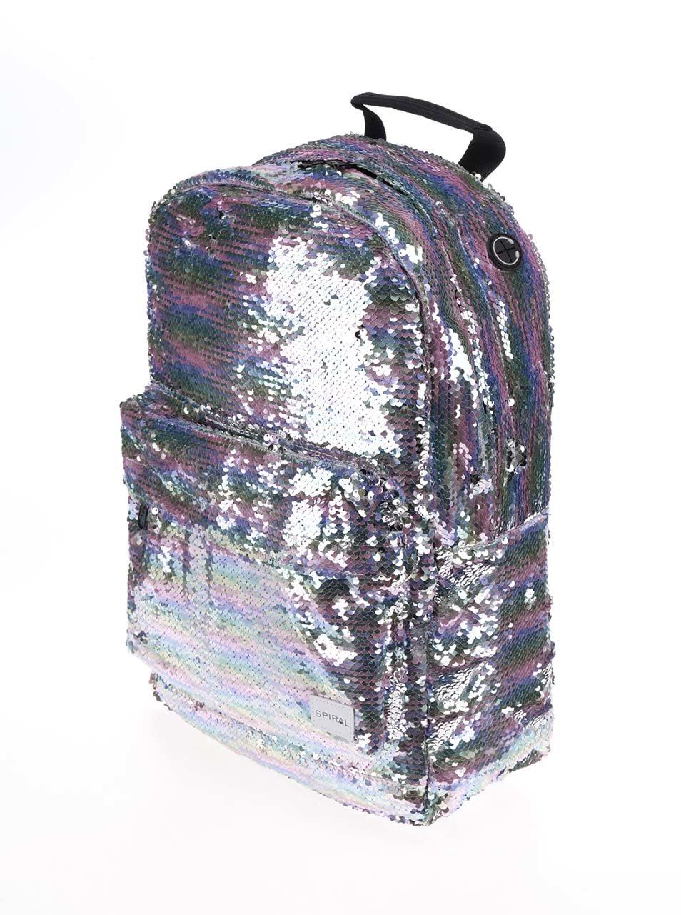 c90f646af7 Dámský batoh s metalickými odlesky a flitry Spiral 18 l ...
