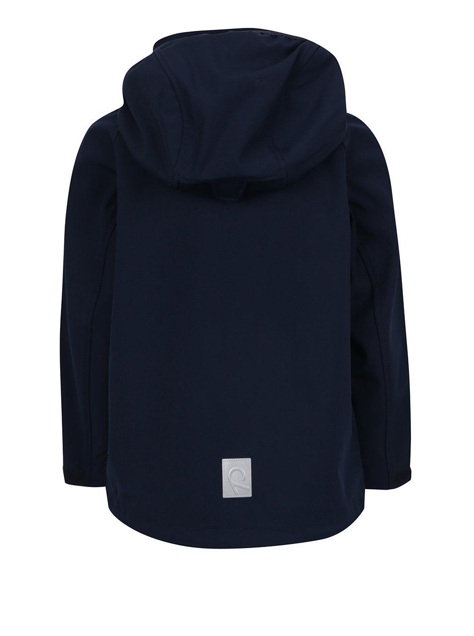 8595a2876b91a Modrá chlapčenská softshellová vodeodolná funkčná bunda Reima Hatch ...
