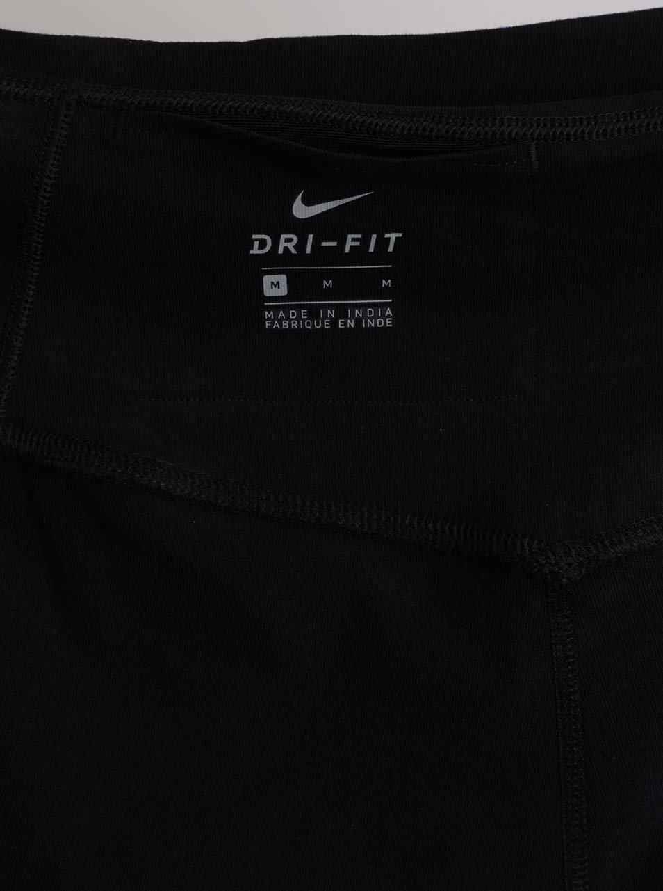 Čierne dámske funkčné legíny Nike ... 03b6c08504