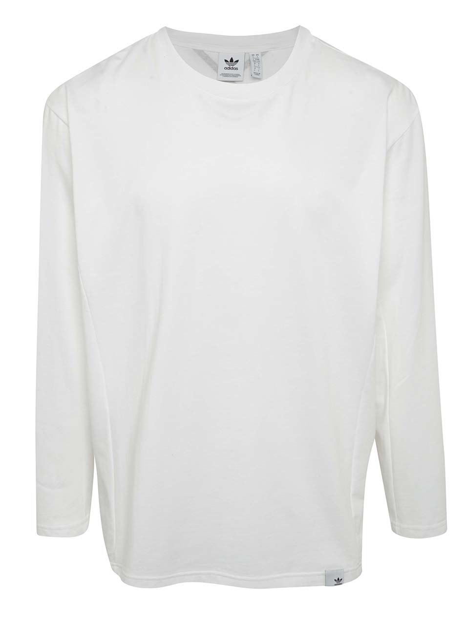 Bílé pánské tričko s dlouhým rukávem adidas Originals XBYO ... 89d2b1e4963