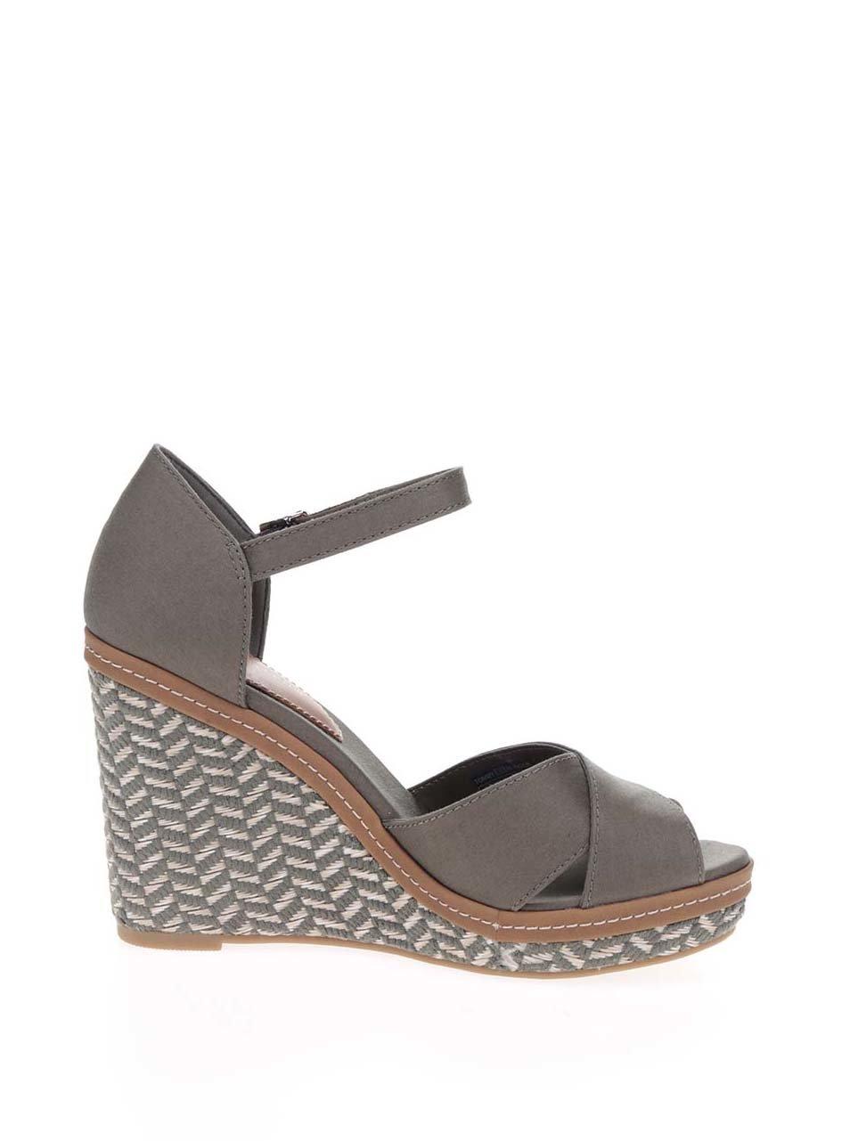 f6f4d43f73659 Zelené dámske sandále na platforme Tommy Hilfiger | ZOOT.sk