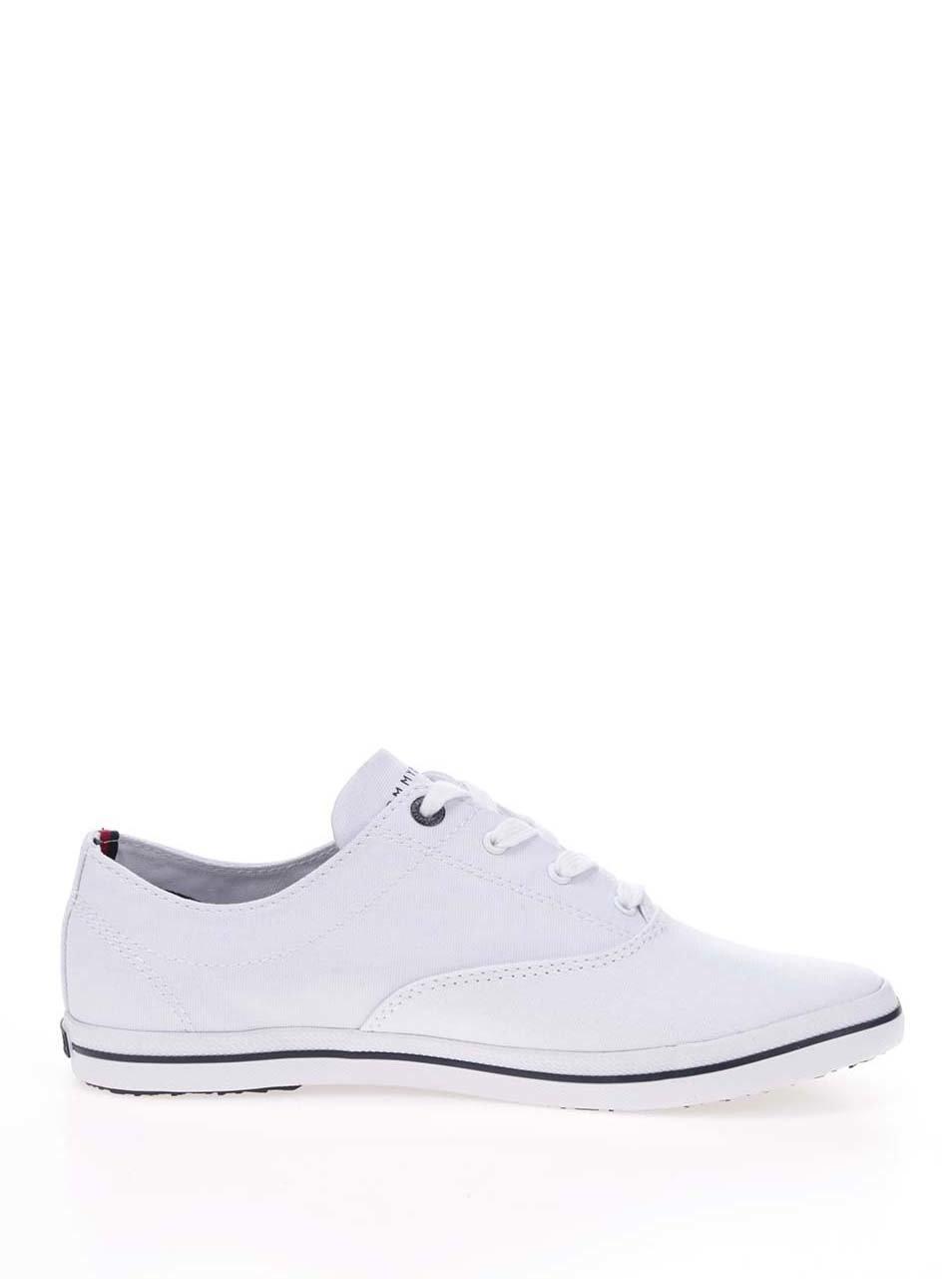 Biele dámske tenisky Tommy Hilfiger ... 42075ad53a3