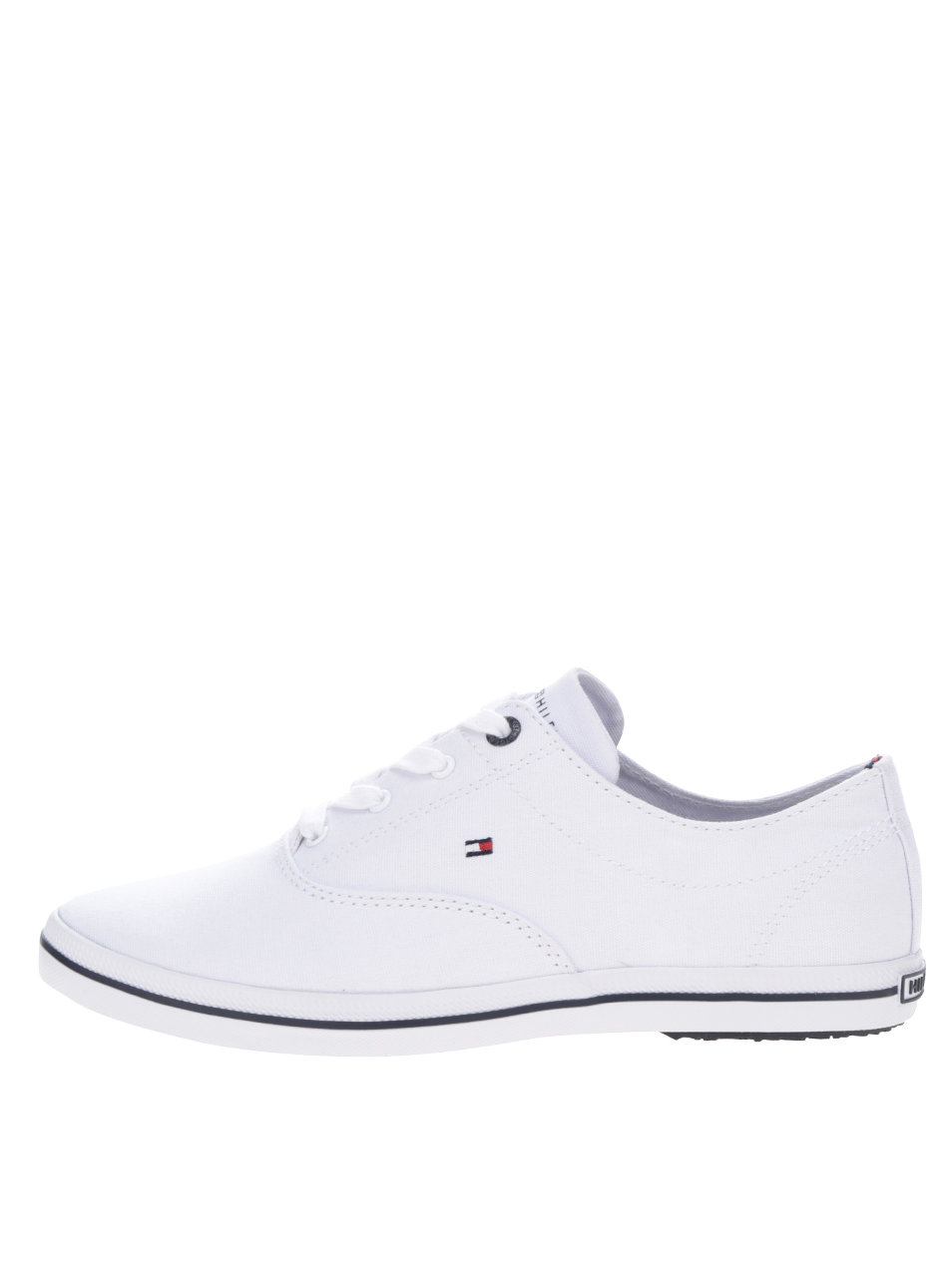 Biele dámske tenisky Tommy Hilfiger ... bf7ec68451c