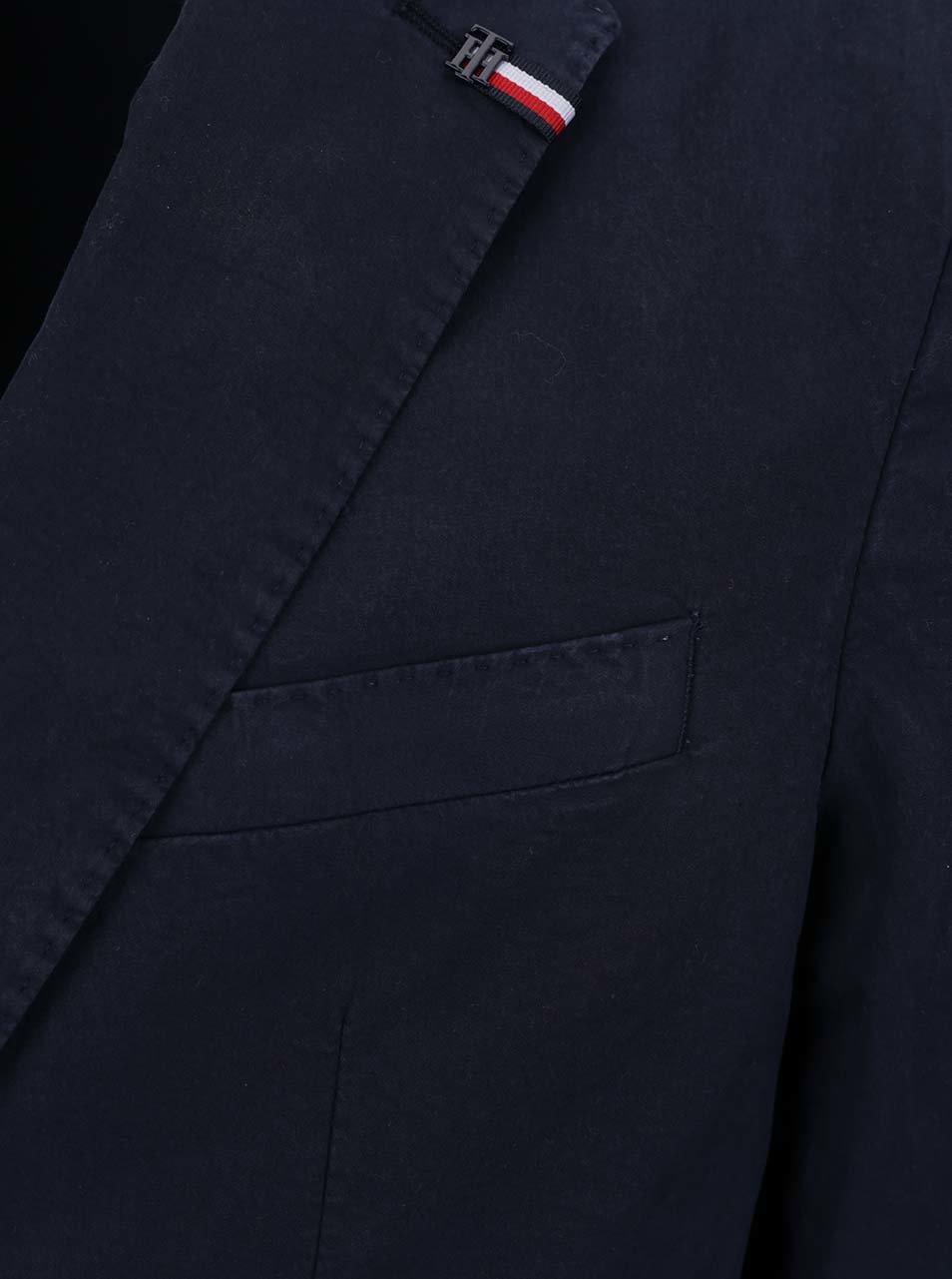Tmavě modré pánské sako Tommy Hilfiger ... 2d7753f5973