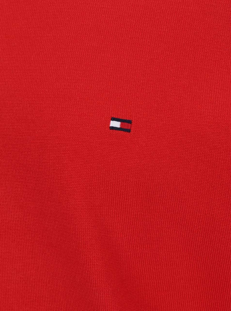 Červený pánsky sveter Tommy Hilfiger ... eaeaa2c7cde