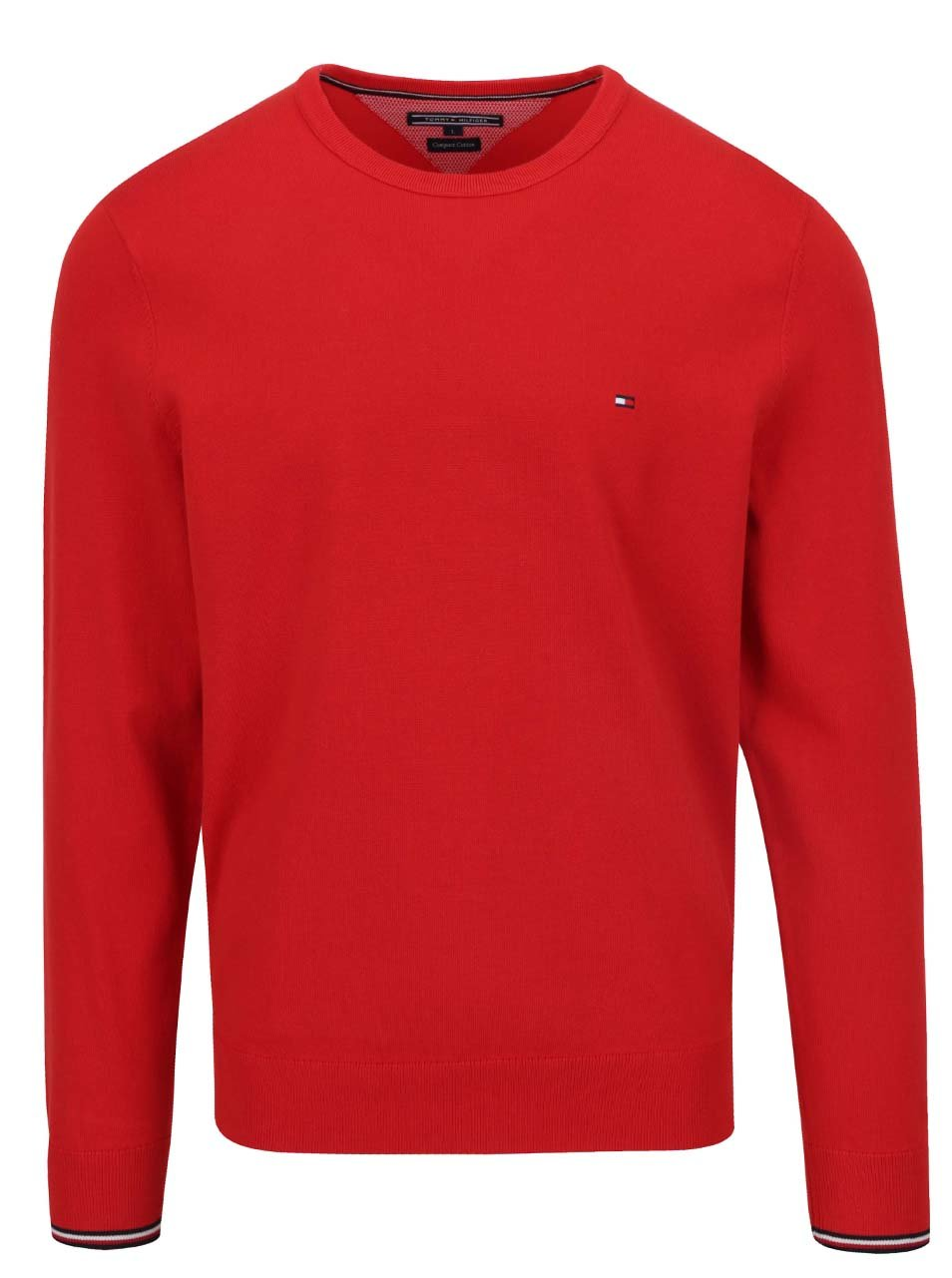Červený pánský svetr Tommy Hilfiger ... 61914e6f2c3