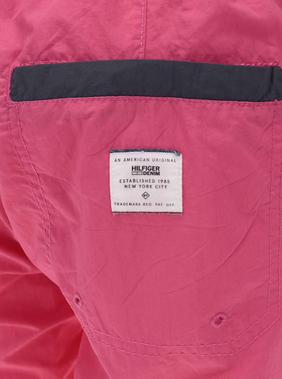 Růžové pánské plavky Tommy Hilfiger ... 9064dd7dca