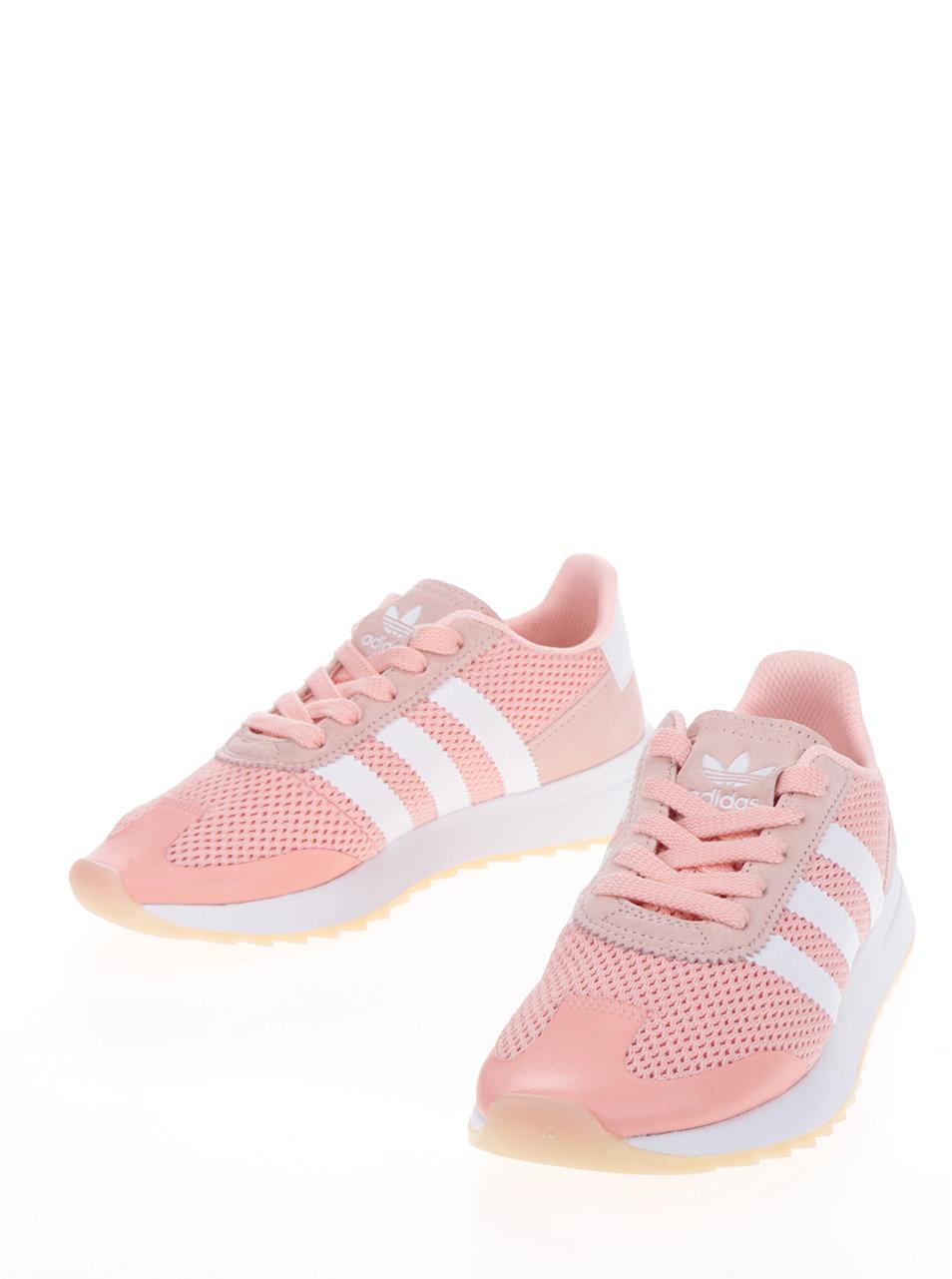 Ružové dámske tenisky adidas Originals ... 6eef07f5074