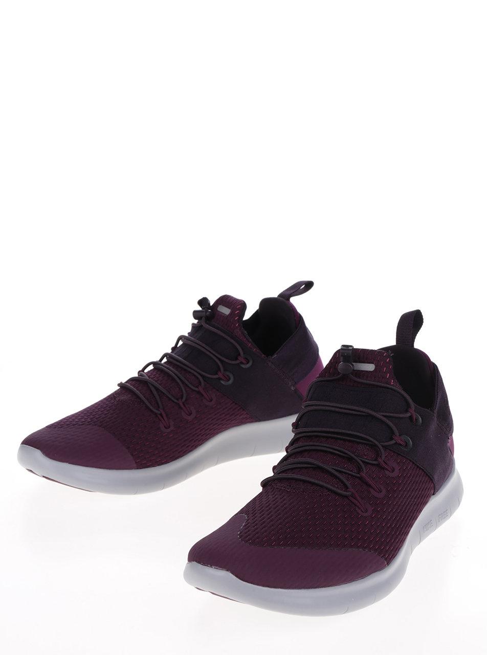Fialové pánske tenisky so sivou podrážkou Nike Free RN Commuter ... 331bb18c1c7