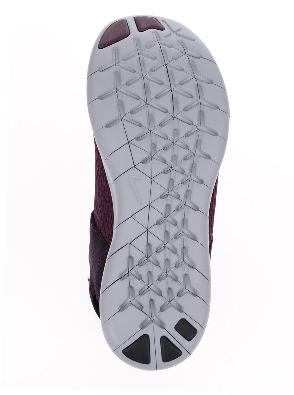 Fialové pánske tenisky so sivou podrážkou Nike Free RN Commuter ... 5263963e0fe