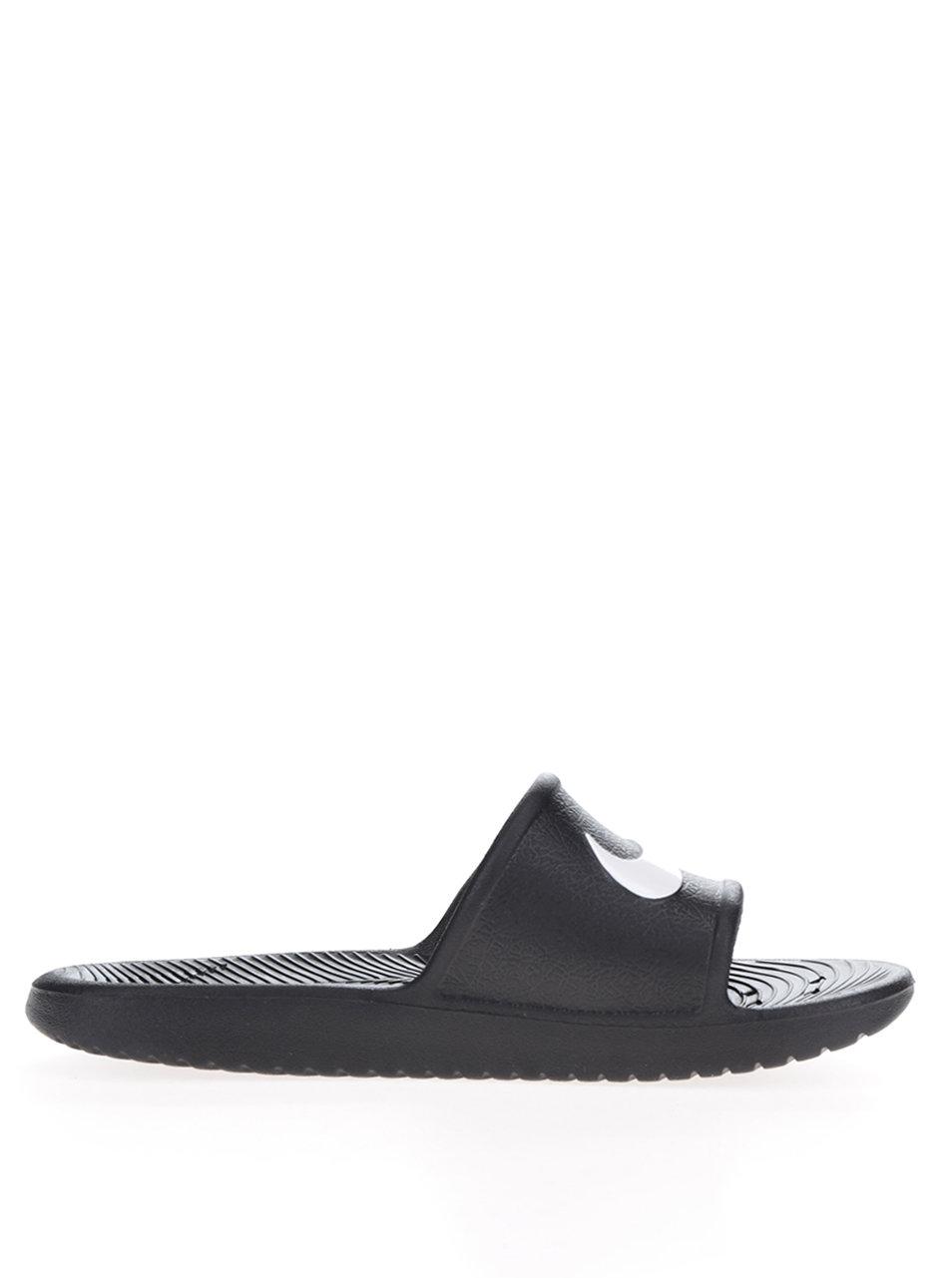 Čierne dámske šľapky Nike Kawa Shower ... e4b4fa842e2