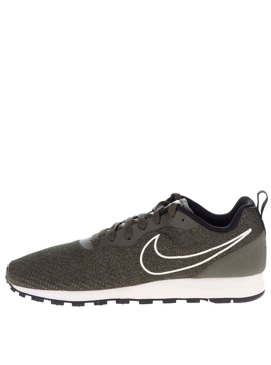 Zelené pánske tenisky Nike MD runner 2 ... 8f68fd33610