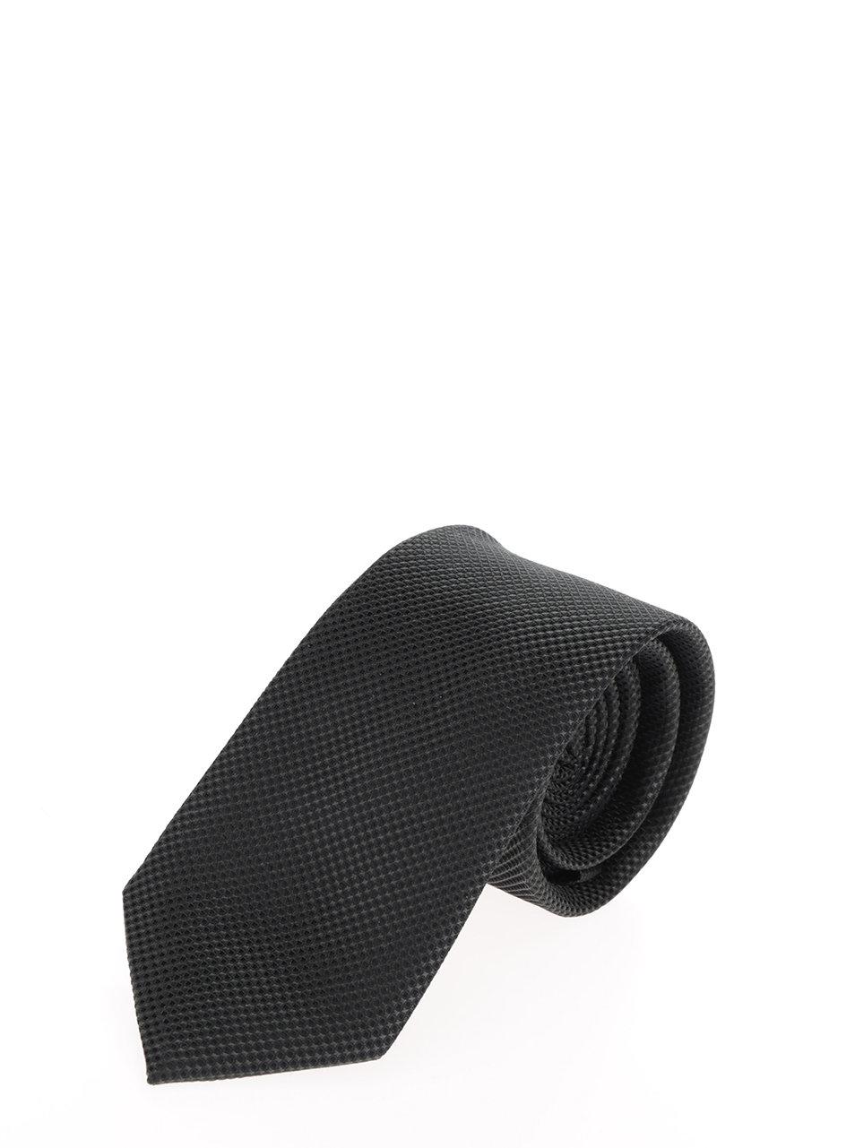 a224083b426 Tmavě zelená hedvábná kravata s drobným vzorem Jack   Jones Premium  Colombia ...