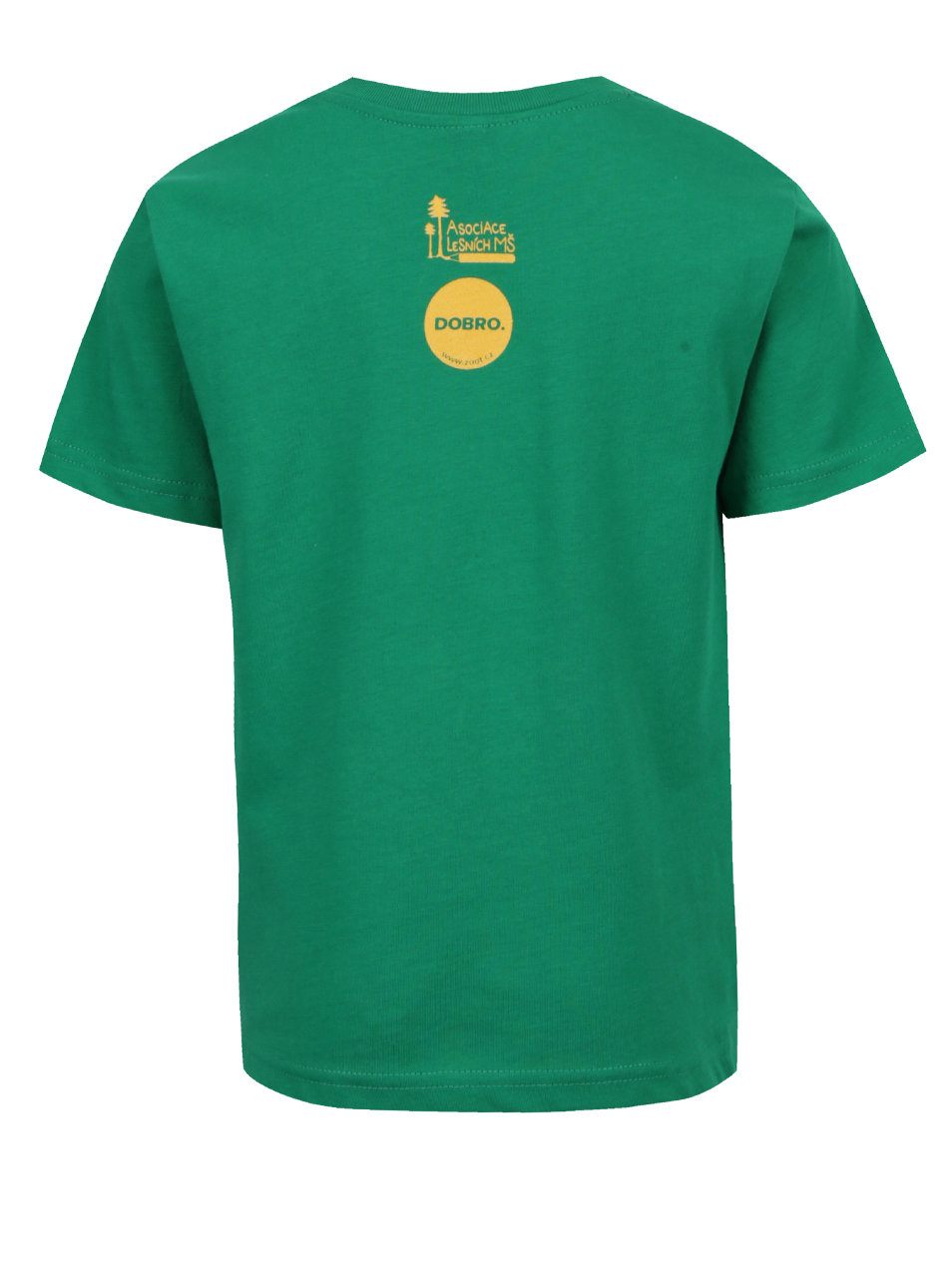 """""""Dobré"""" zelené dětské tričko pro Asociaci lesních MŠ"""