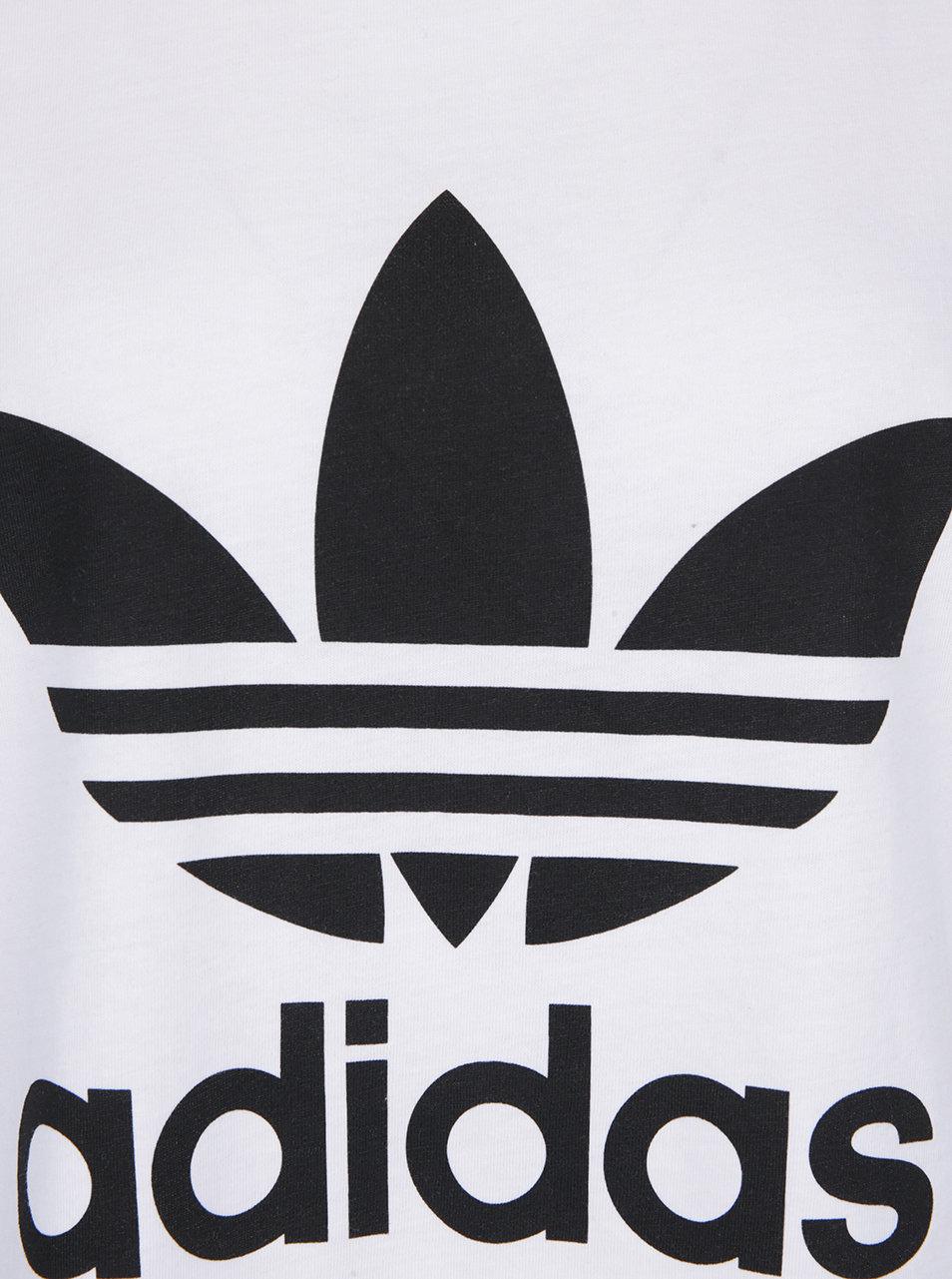 Bílé dámské dámské volné Bílé tričko Originals adidas Originals | 967a094 - hotlink.pw
