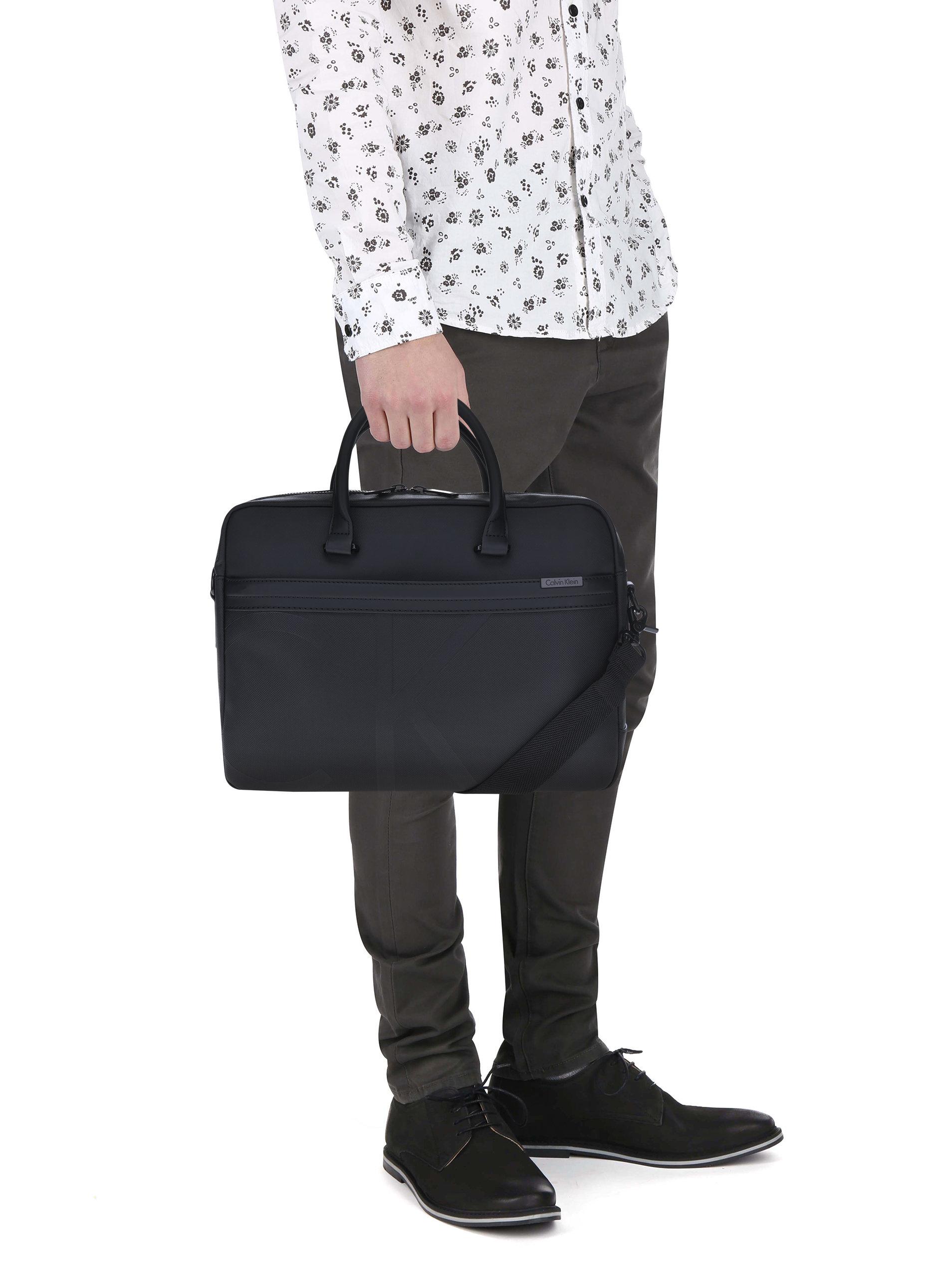 a4a1301ffa Černá pánská taška na notebook Calvin Klein Jeans Gregory ...