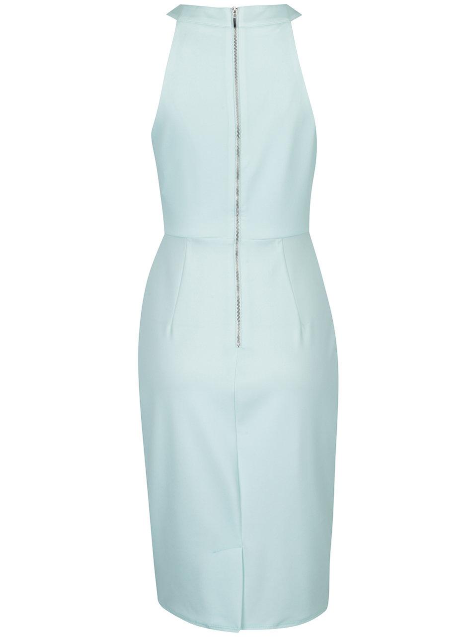 b107dca296e6 Mentolové kvetované šaty Dorothy Perkins ...