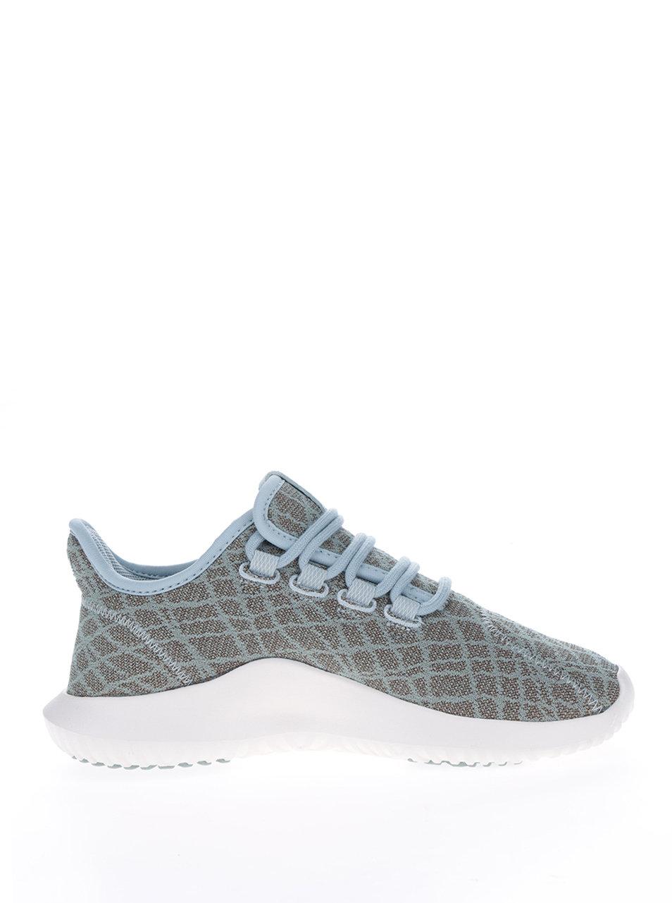 Kaki dámske vzorované tenisky adidas Originals Tubular Shadow ... 3e6a209547d