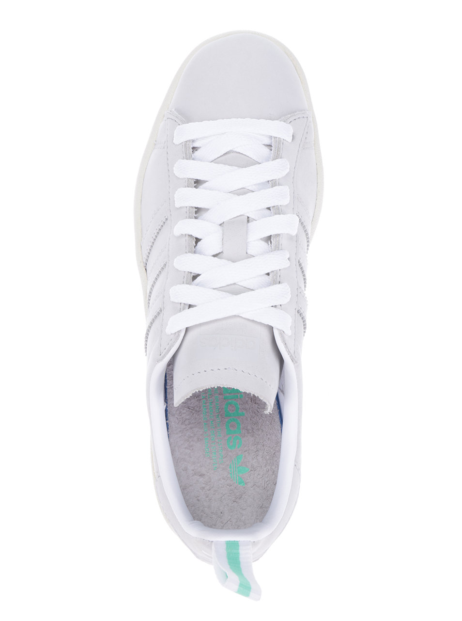 Sivé dámske kožené tenisky adidas Originals Campus ... 014047addd