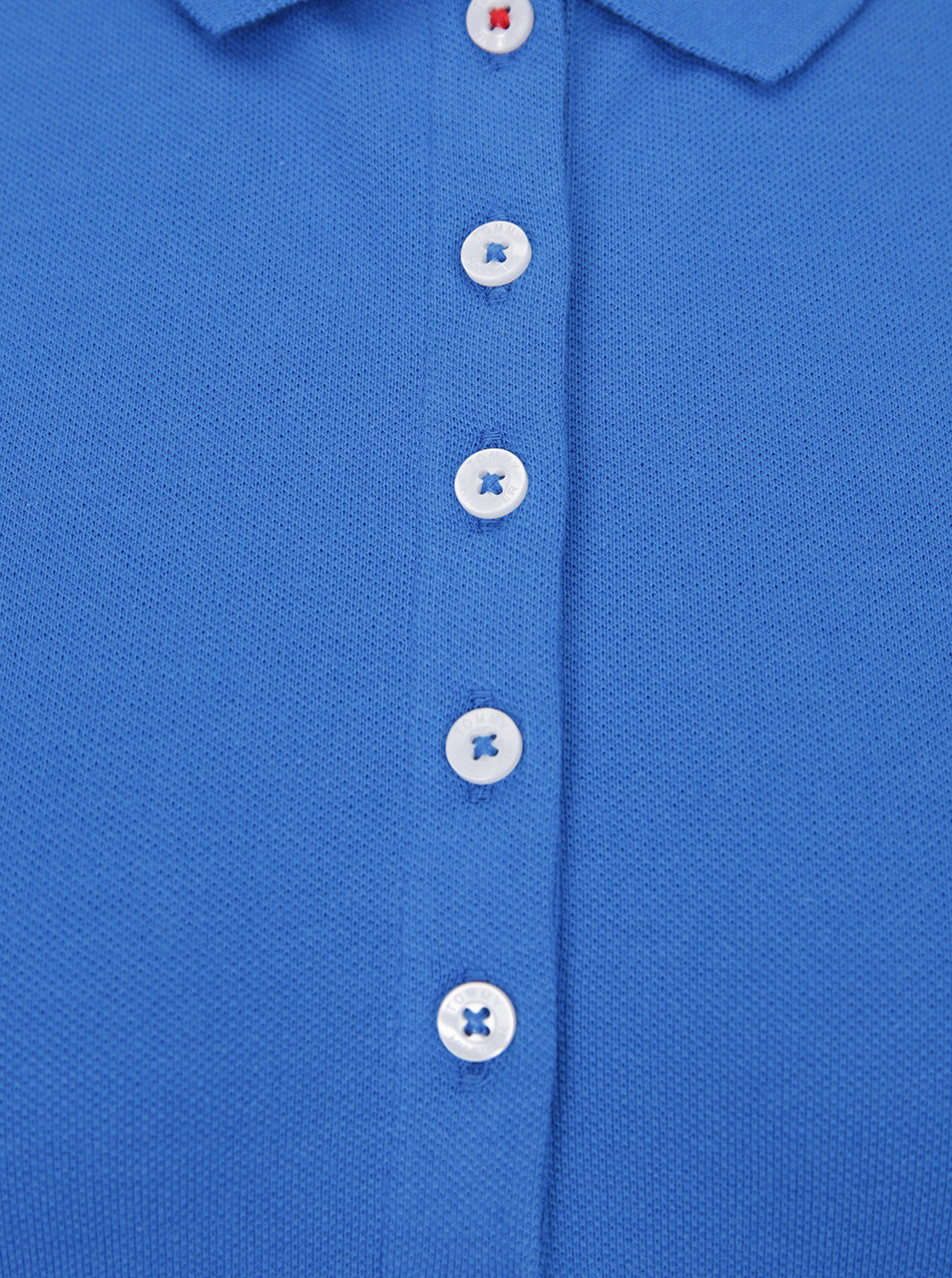 Modré dámske polo tričko Tommy Hilfiger New Chiara ... f2334e140d9