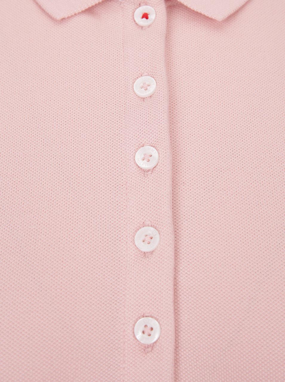 Ružové dámske polo tričko Tommy Hilfiger New Chiara ... b4d63484b7e