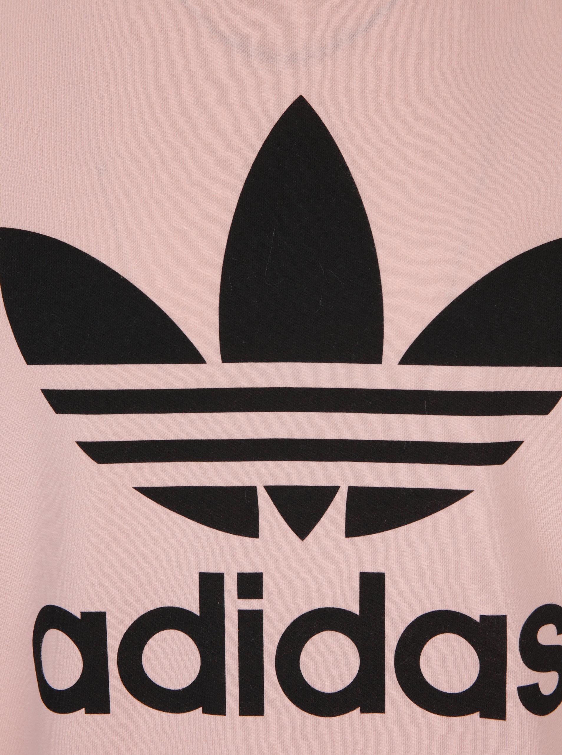 02ed659c08ba Ružové pánske tričko adidas Originals ...