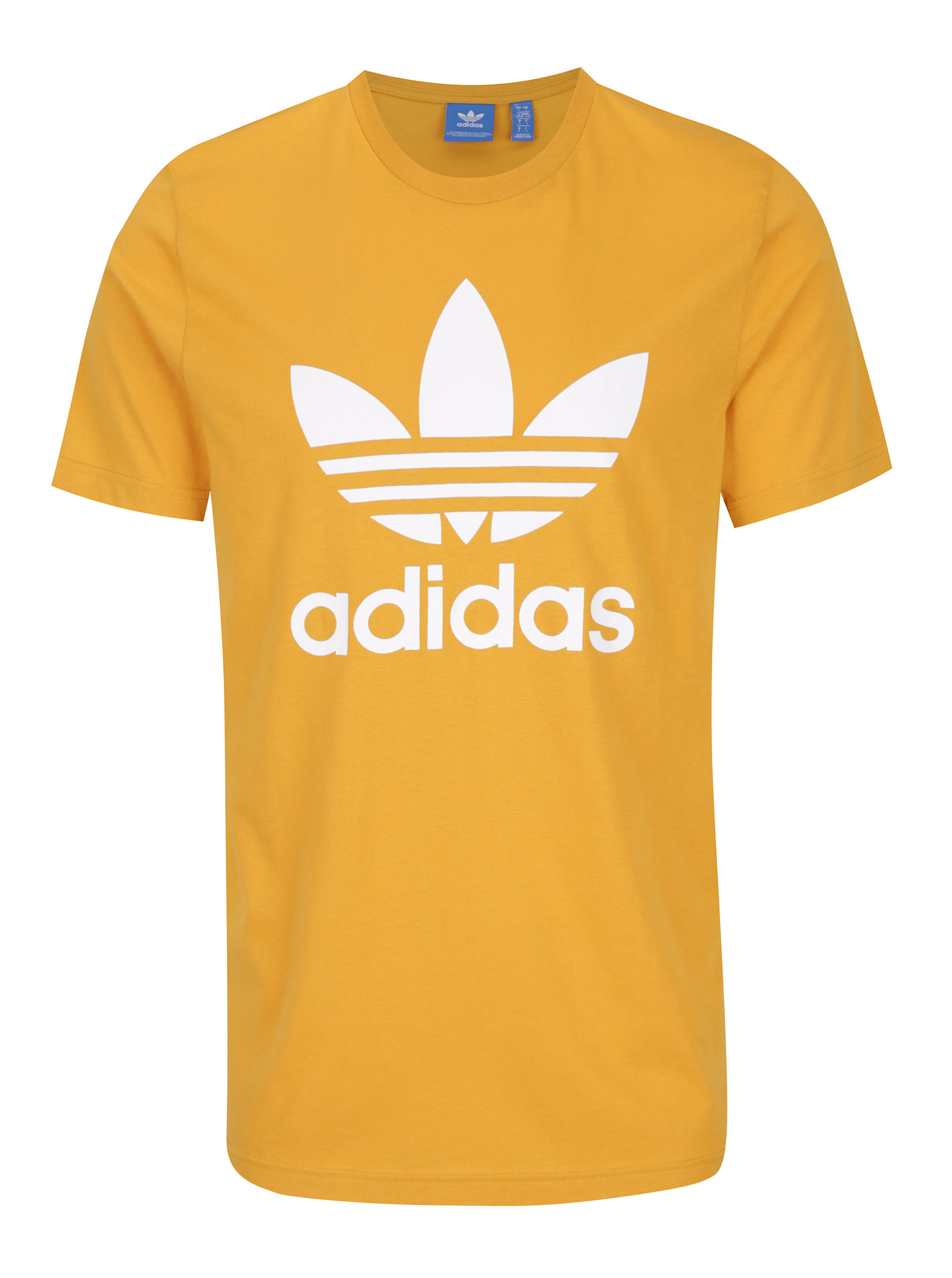 Žlté pánske tričko adidas Originals ... 3f4a0a90494