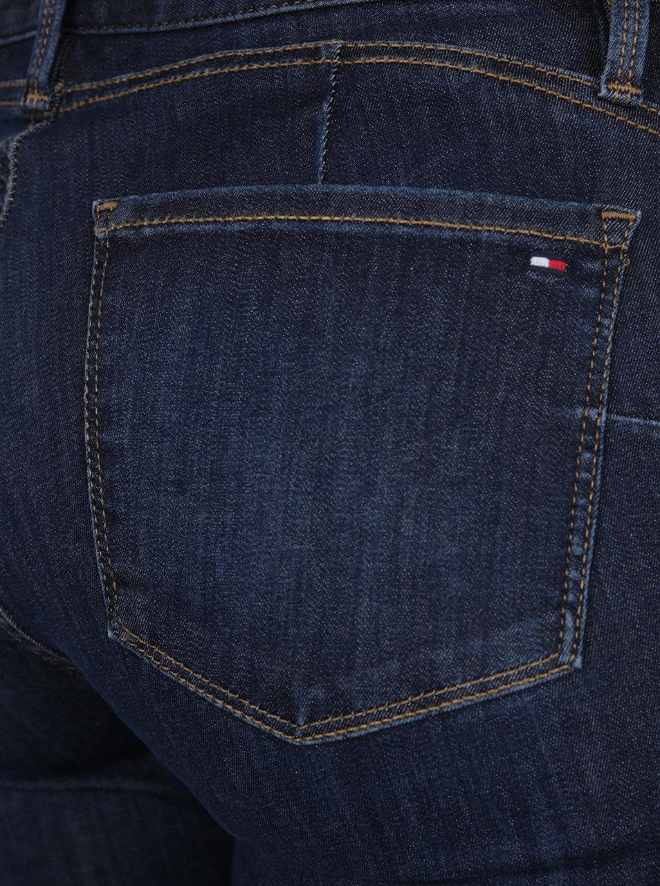 Tmavě modré dámské push-up džíny Tommy Hilfiger Como ... cf8c60e3c0