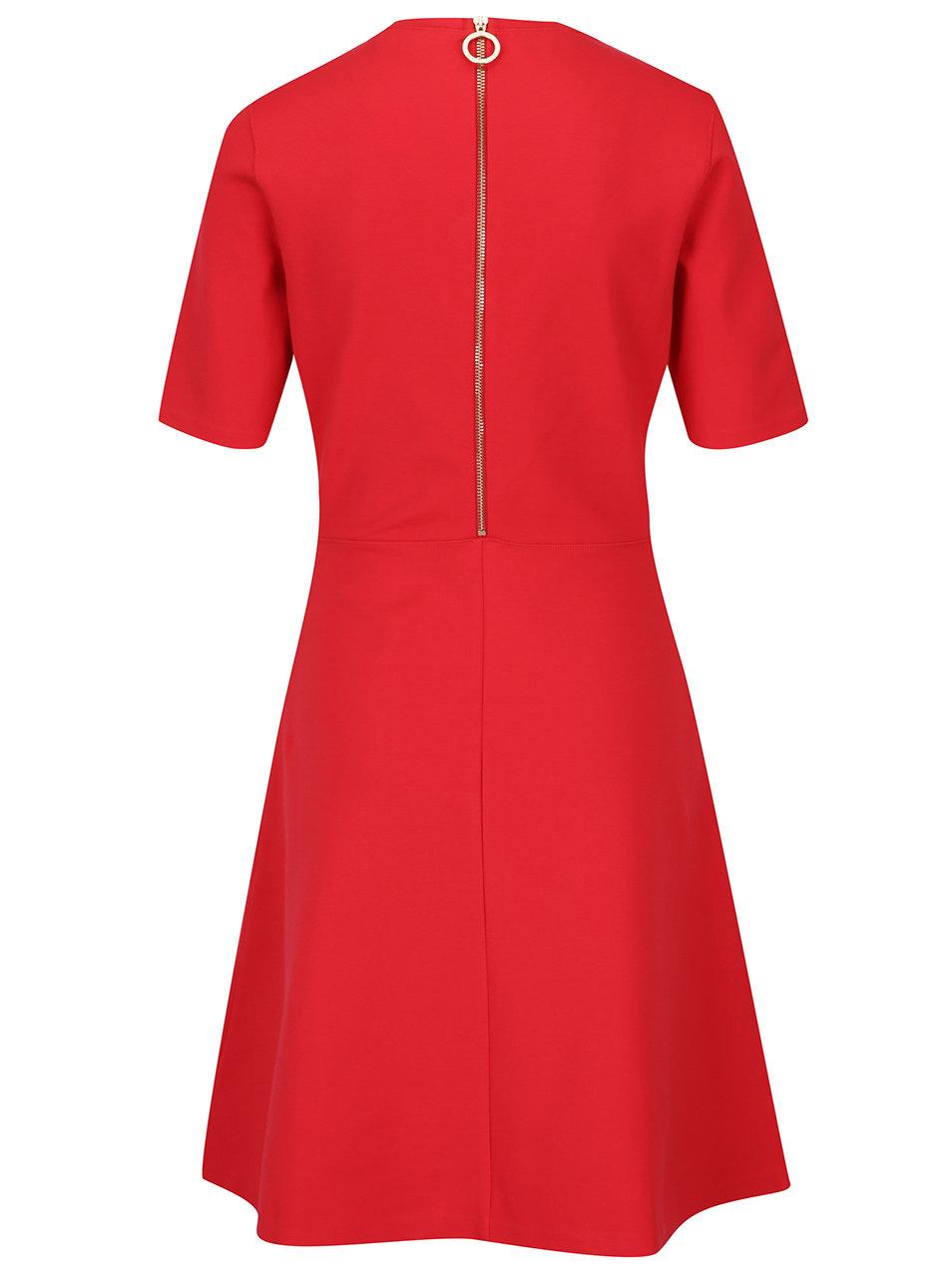 Červené šaty Tommy Hilfiger Raven ... 0f5f0f0dd93