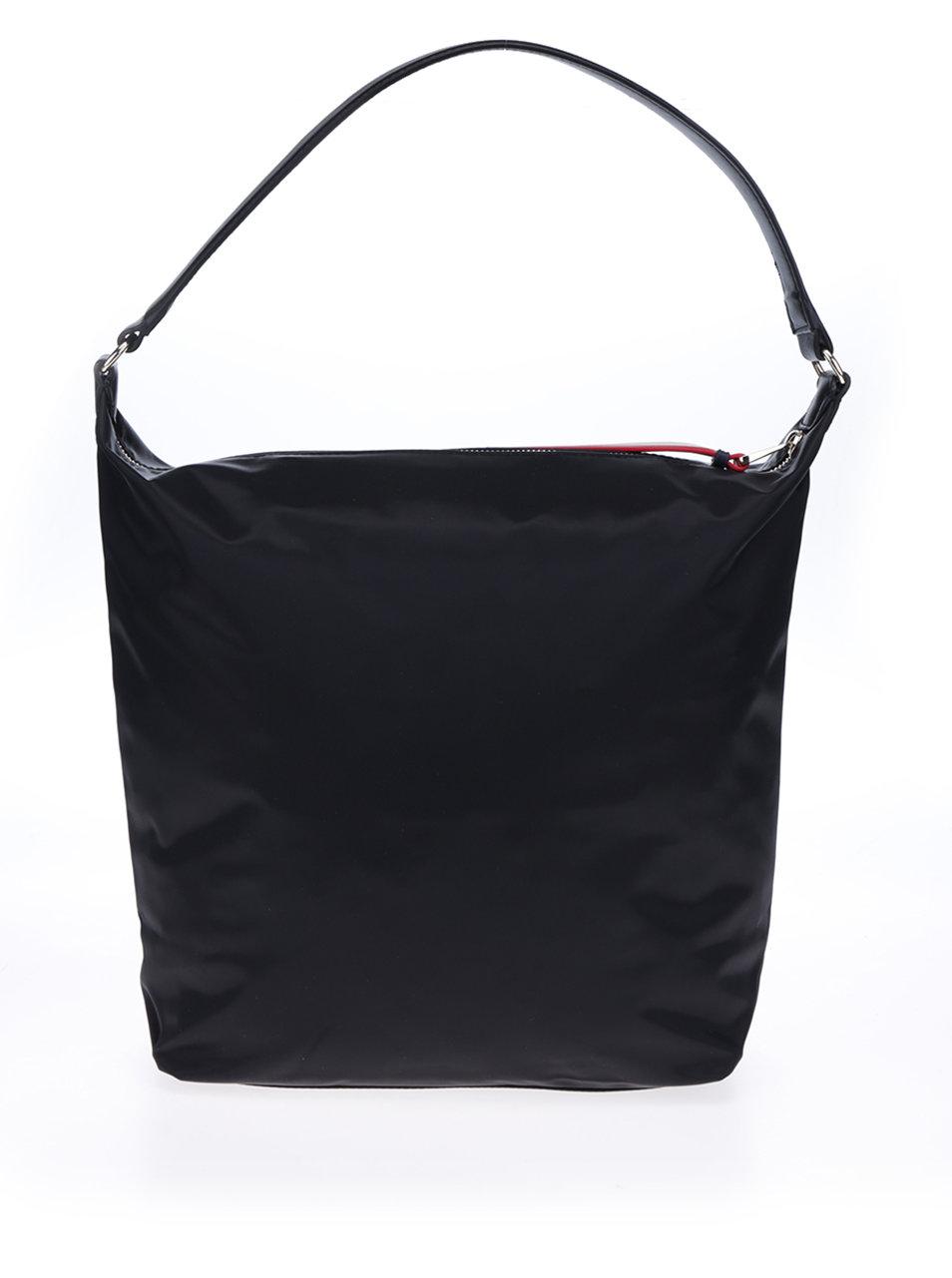 Čierna kabelka do ruky Tommy Hilfiger Poppy Hobo ... cf927260e45