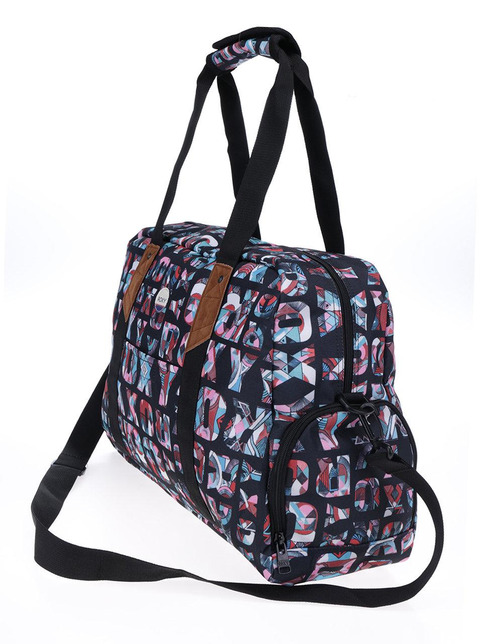 430c014c07 Čierna športová taška s potlačou Roxy Sugar It Up ...