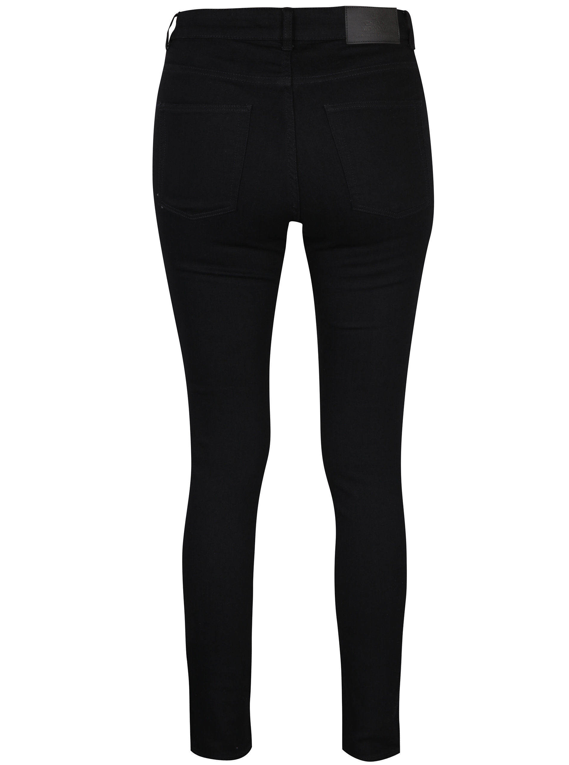 Černé dámské skinny džíny s vysokým pasem Cheap Monday Mid ... 3dca09932e
